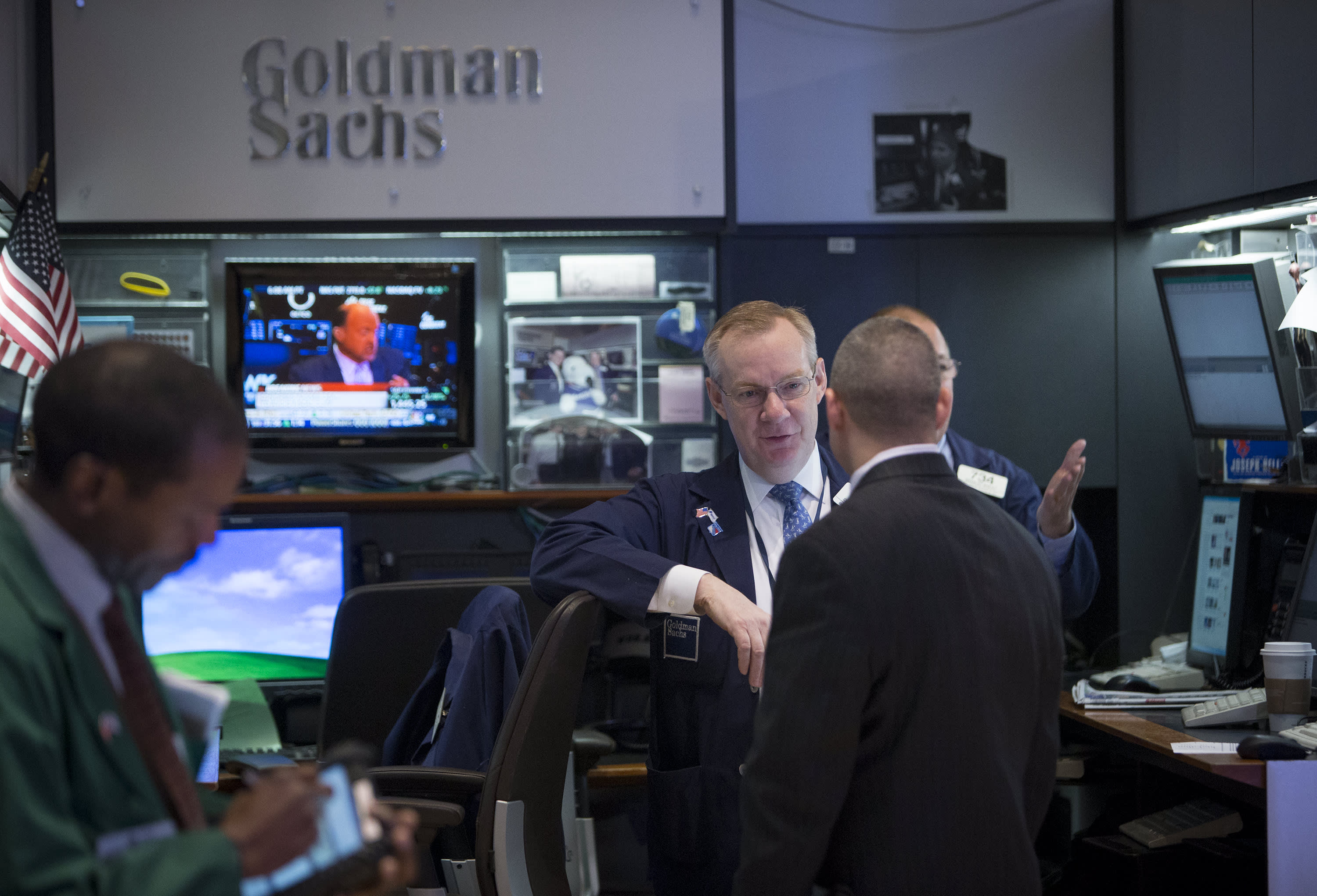 Goldman has a portfolio which tracks hedge funds that is trouncing the market — here's what's in it