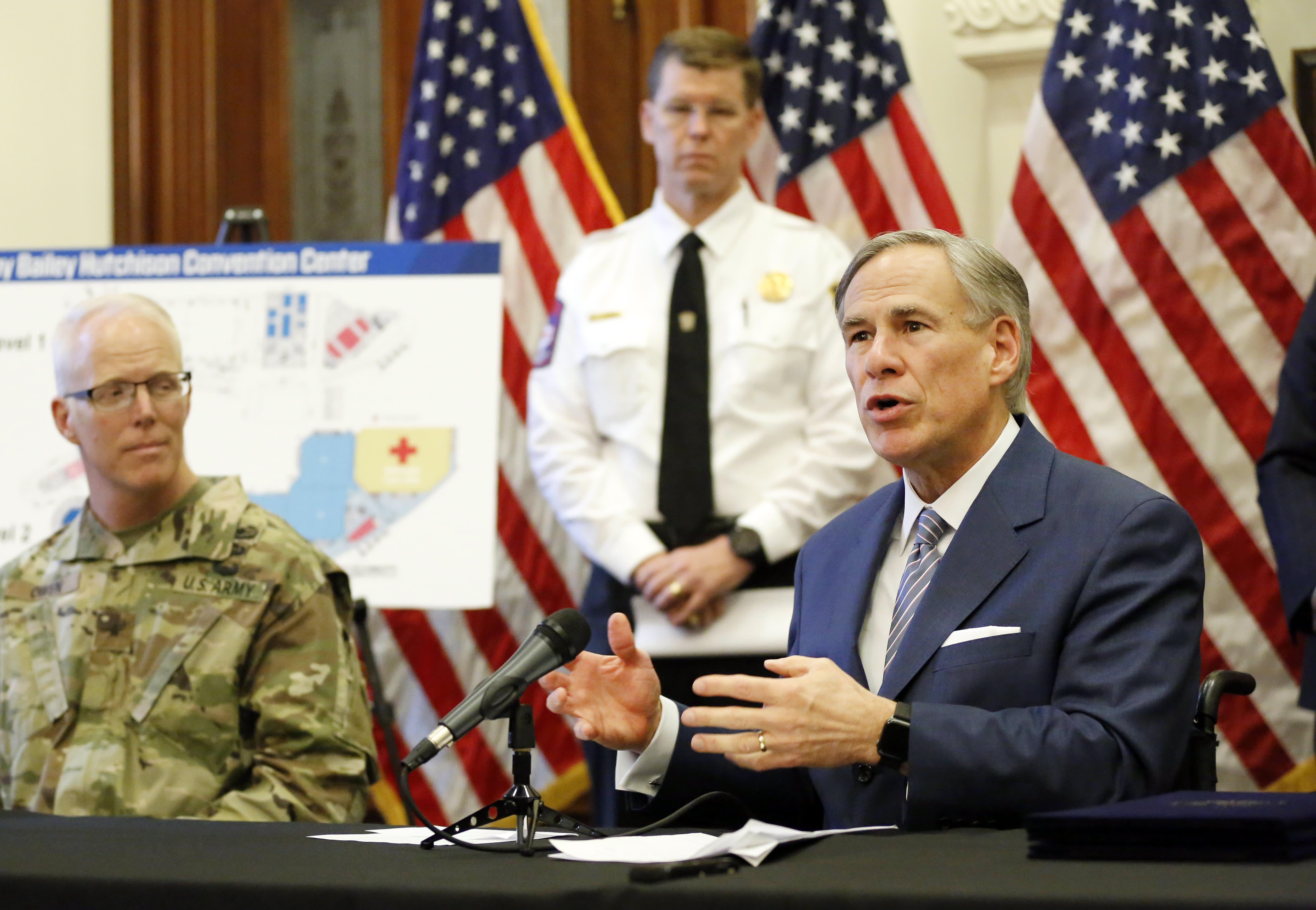 Texas Gov. Abbott blames Covid spread on immigrants, criticizes Biden's 'Neanderthal' comment - CNBC