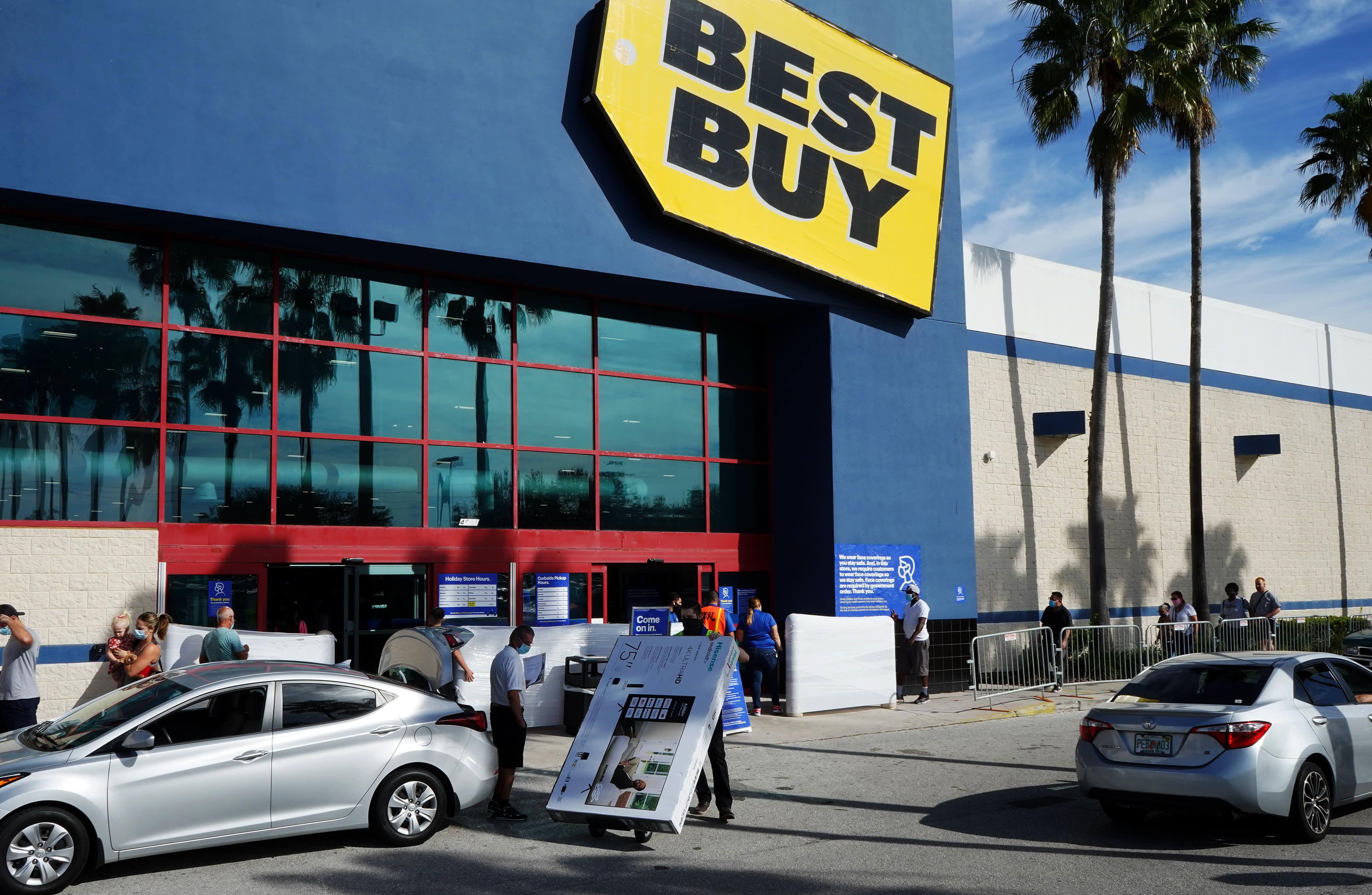 Best Buy pushes ahead with its health-care strategy by acquiring Current Health