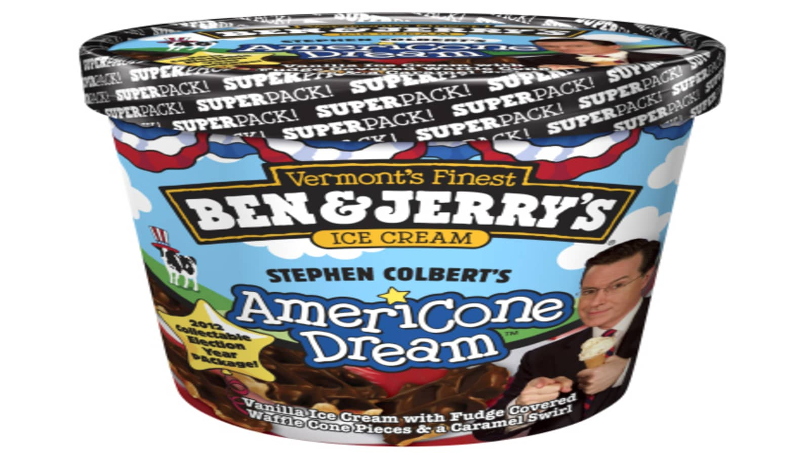Ben Jerry S Introduces Its Superpack To Highlight Money In Politics Show more on imdbpro ». superpack to highlight money in politics