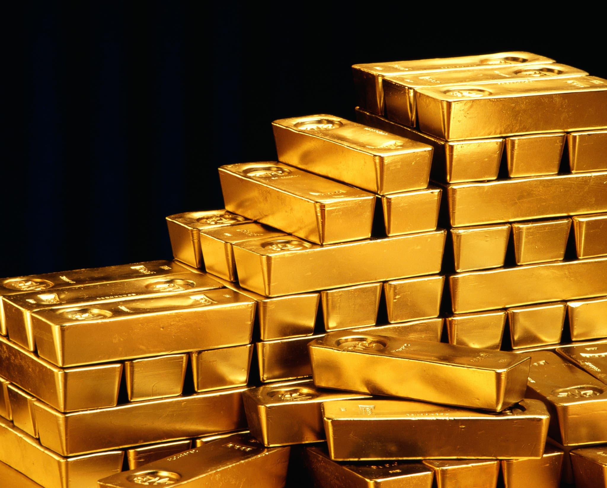 Reusable: gold stacks