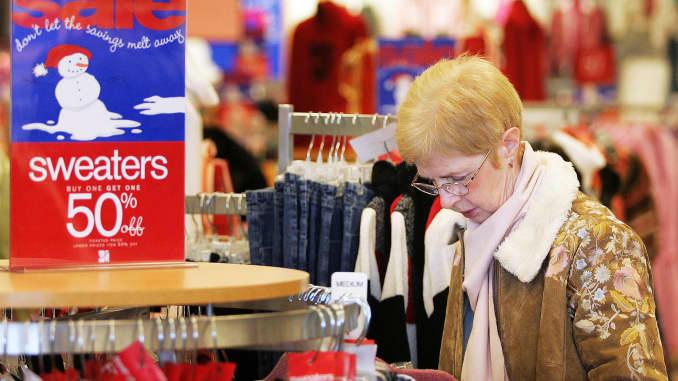 GS: Dress Barn Store Ascena woman shopping