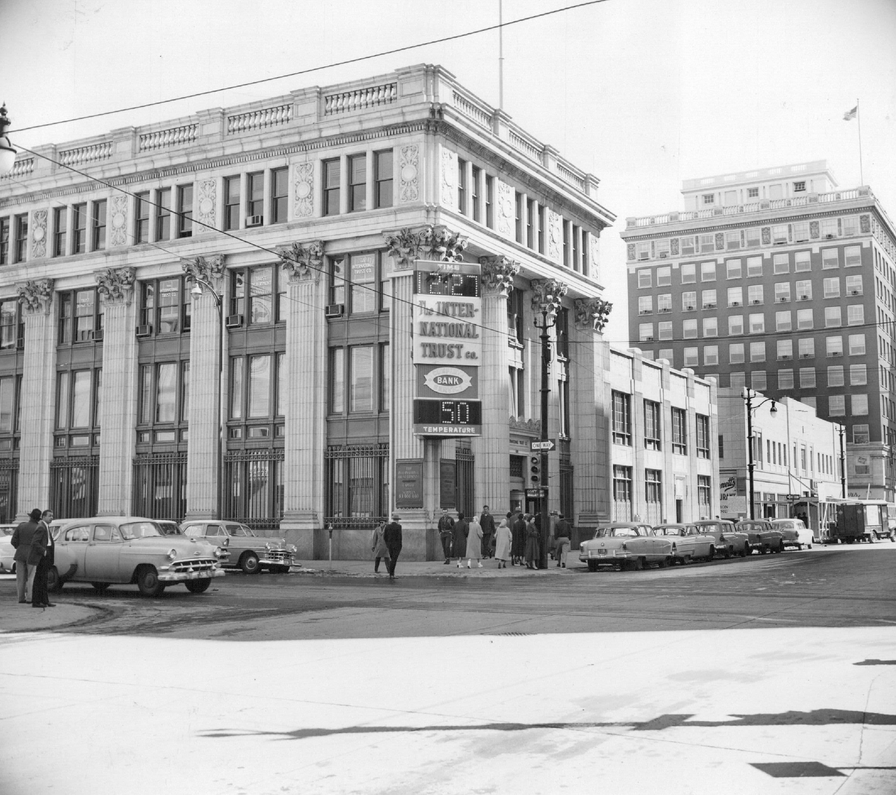 International Trust Bank, Denver 1956