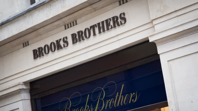 A Brooks Brothers in London.