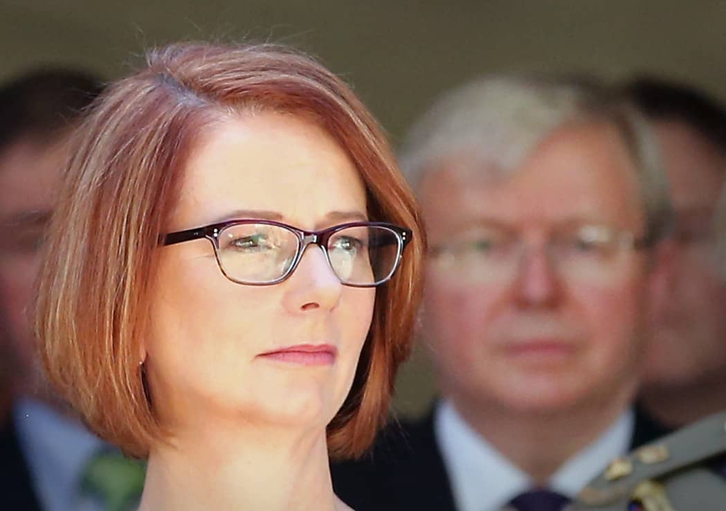Australia won't take sides in the US-China trade dispute, says former PM Gillard