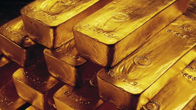 reusable: gold bars pyramid
