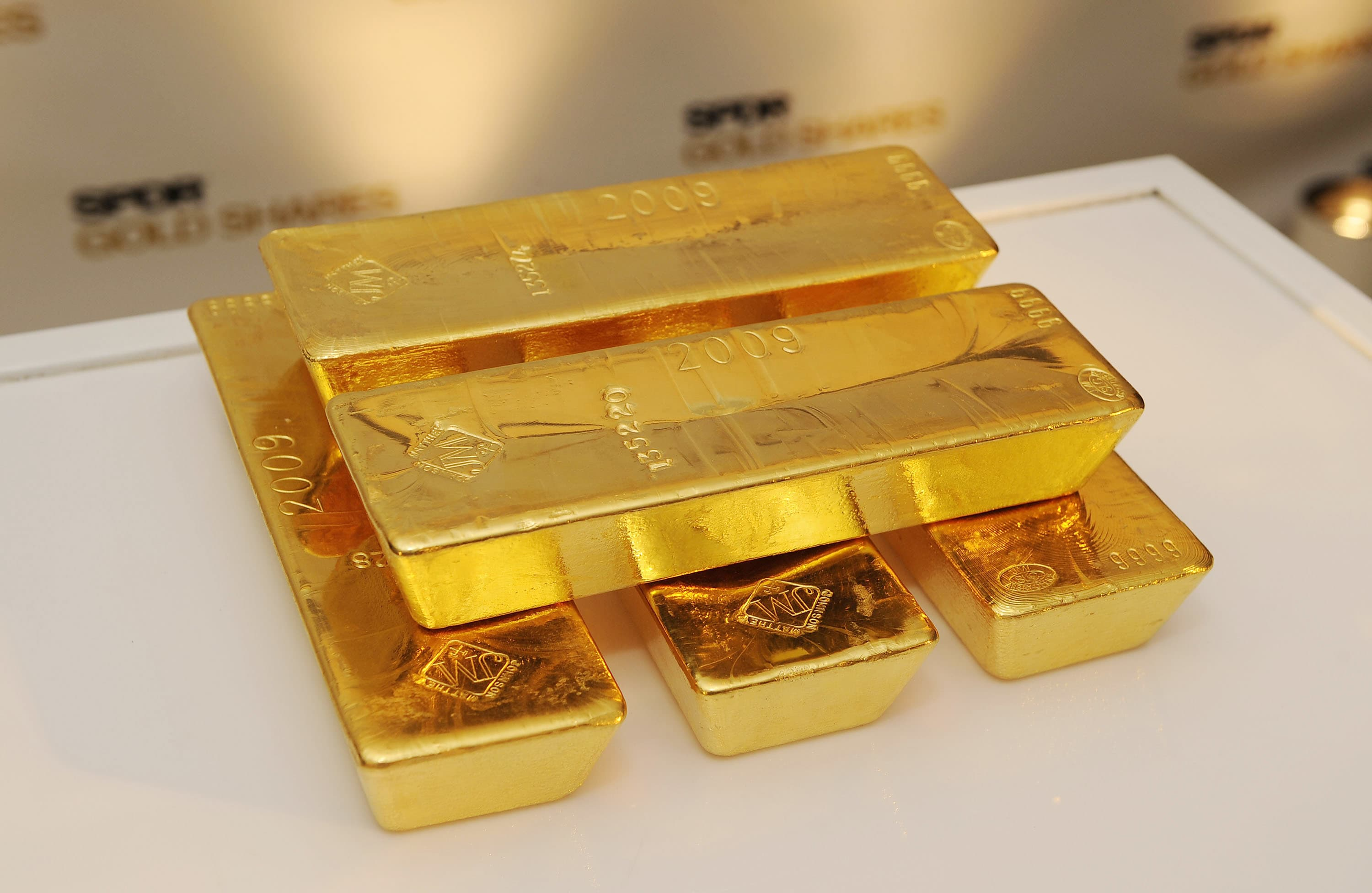 Gold eases after surprise US CPI jump, holds above $1,400