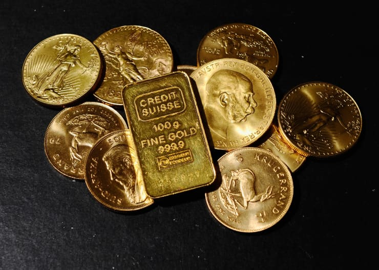 Reusable: Gold coins 001