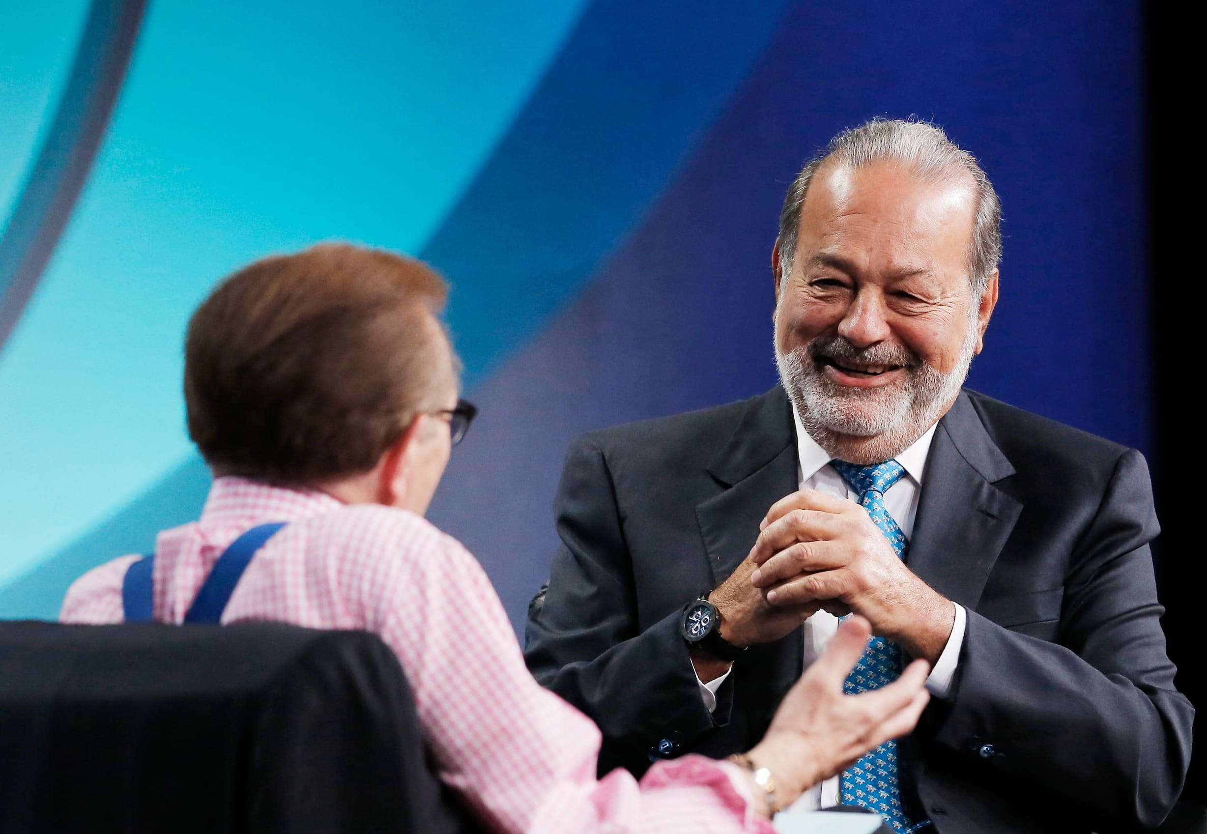 how much money does carlos slim make every second