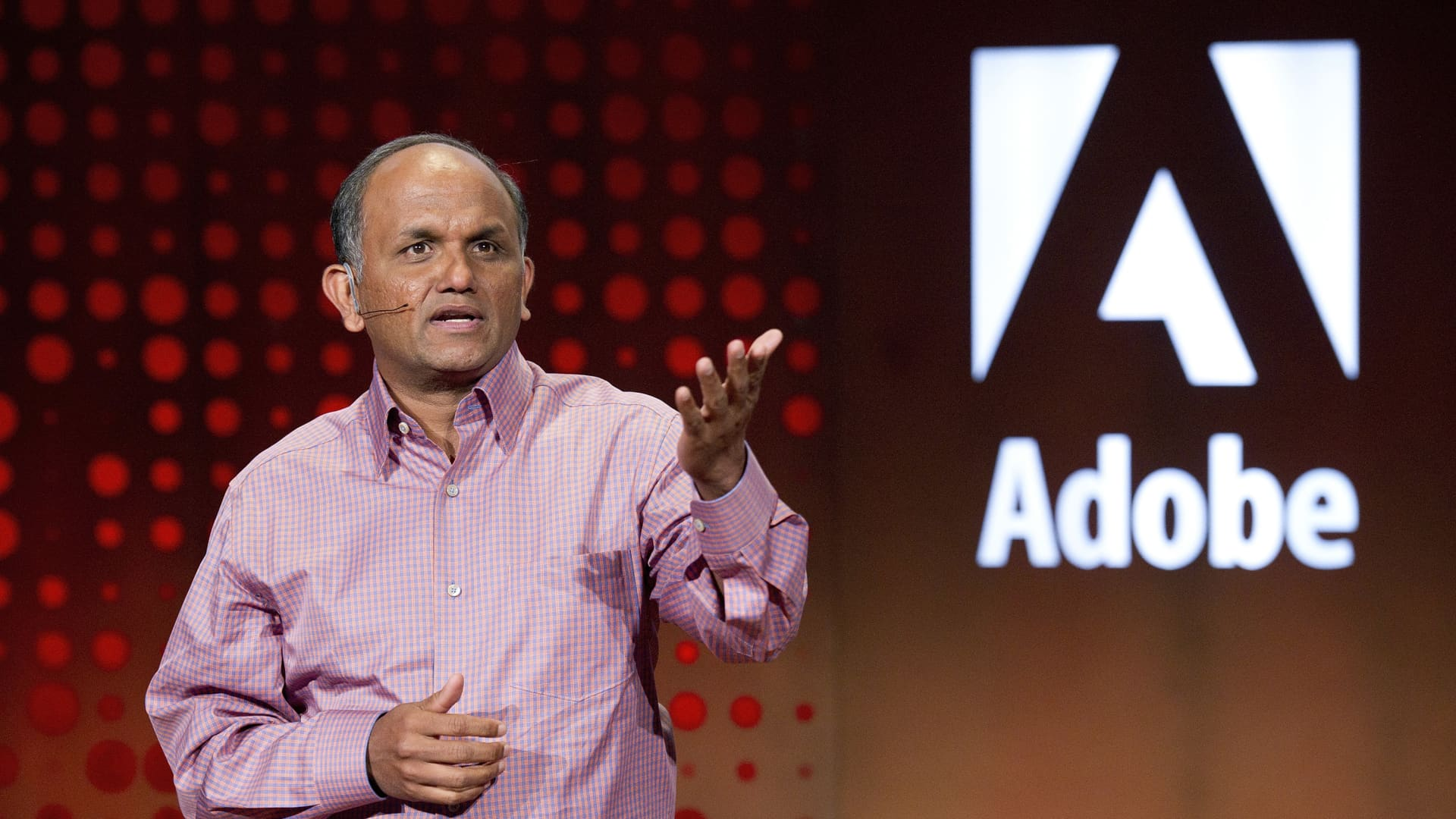 Shantanu Narayen, president and chief executive officer of Adobe Systems