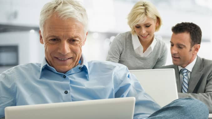 Premium: Senior retirement working employment age