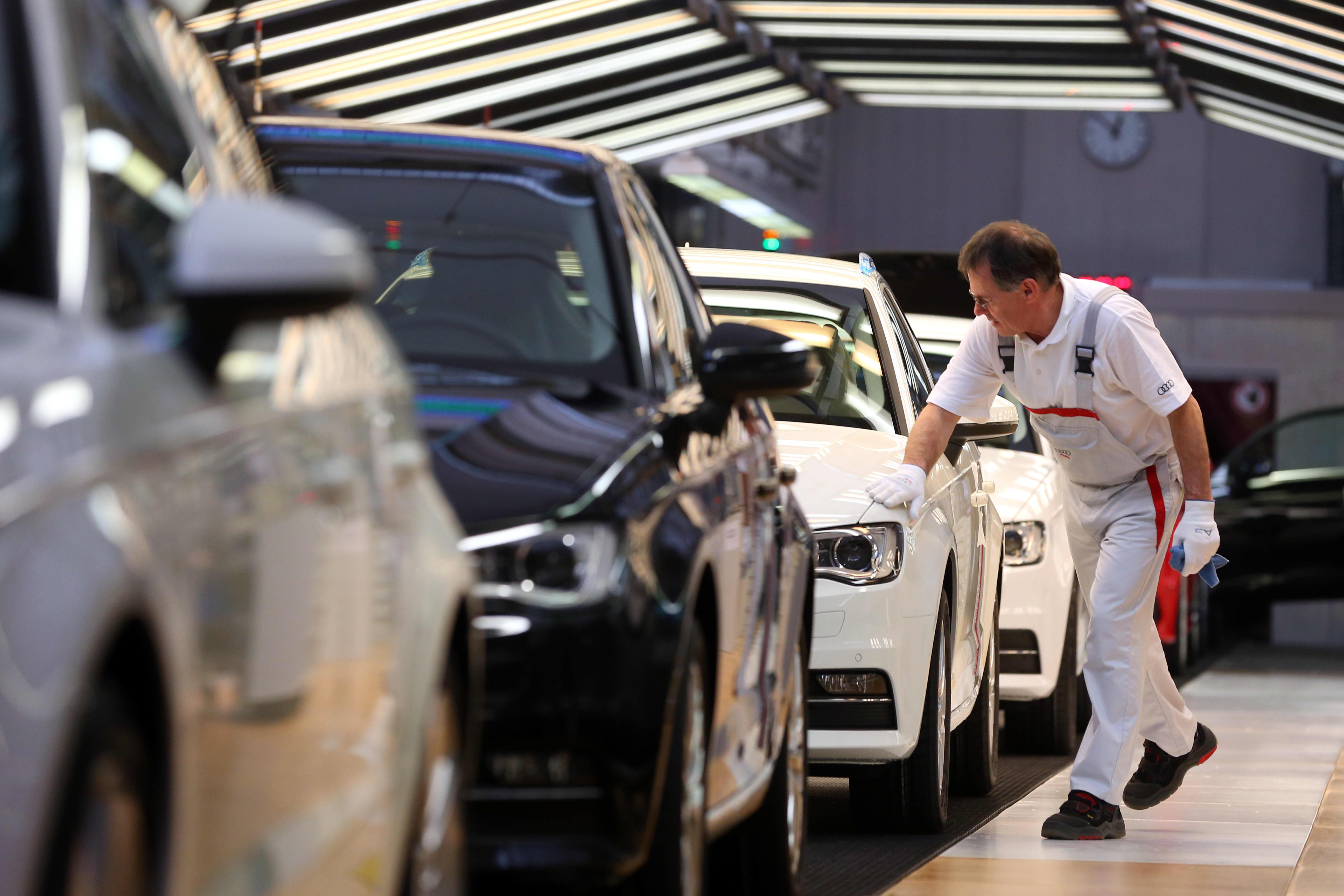 Euro zone GDP slows as expected in the fourth quarter, but employment beats consensus
