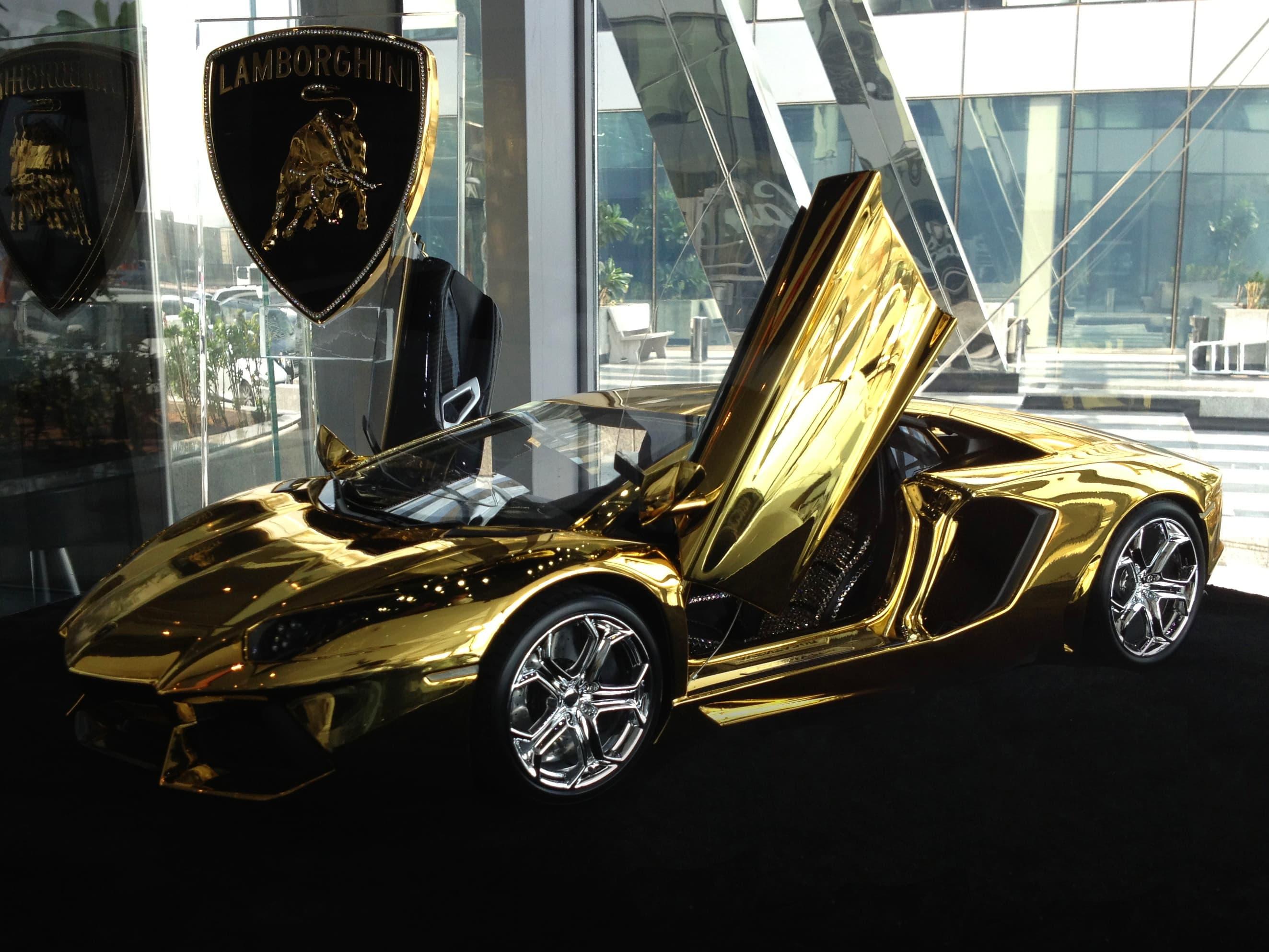 Gold Lamborghini Yours for $7.5 million