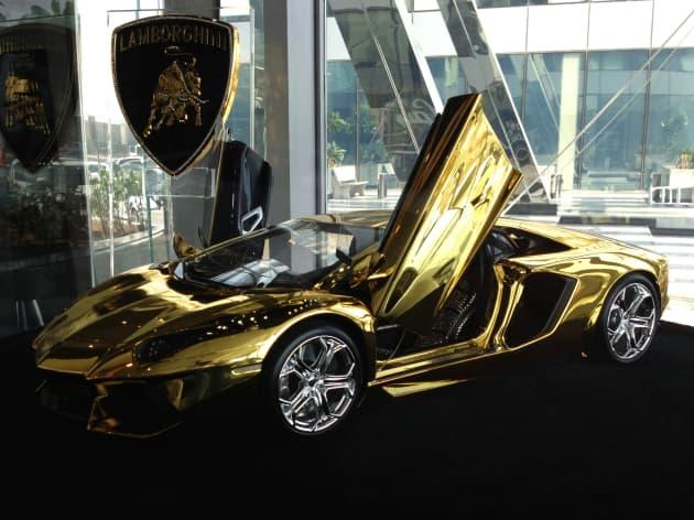 Gold Lamborghini Yours For 7 5 Million