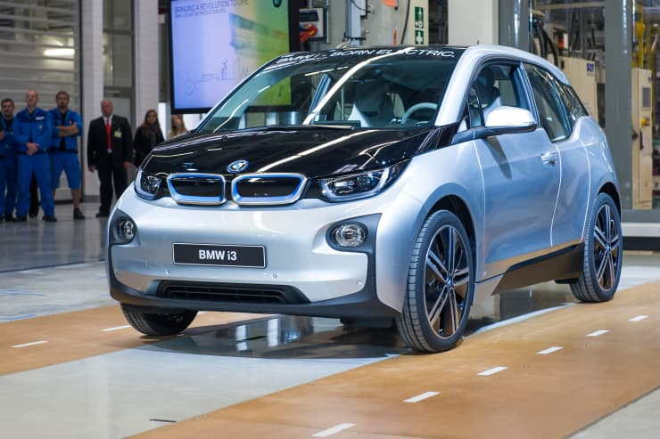 Reusable: BMW i3 production Germany