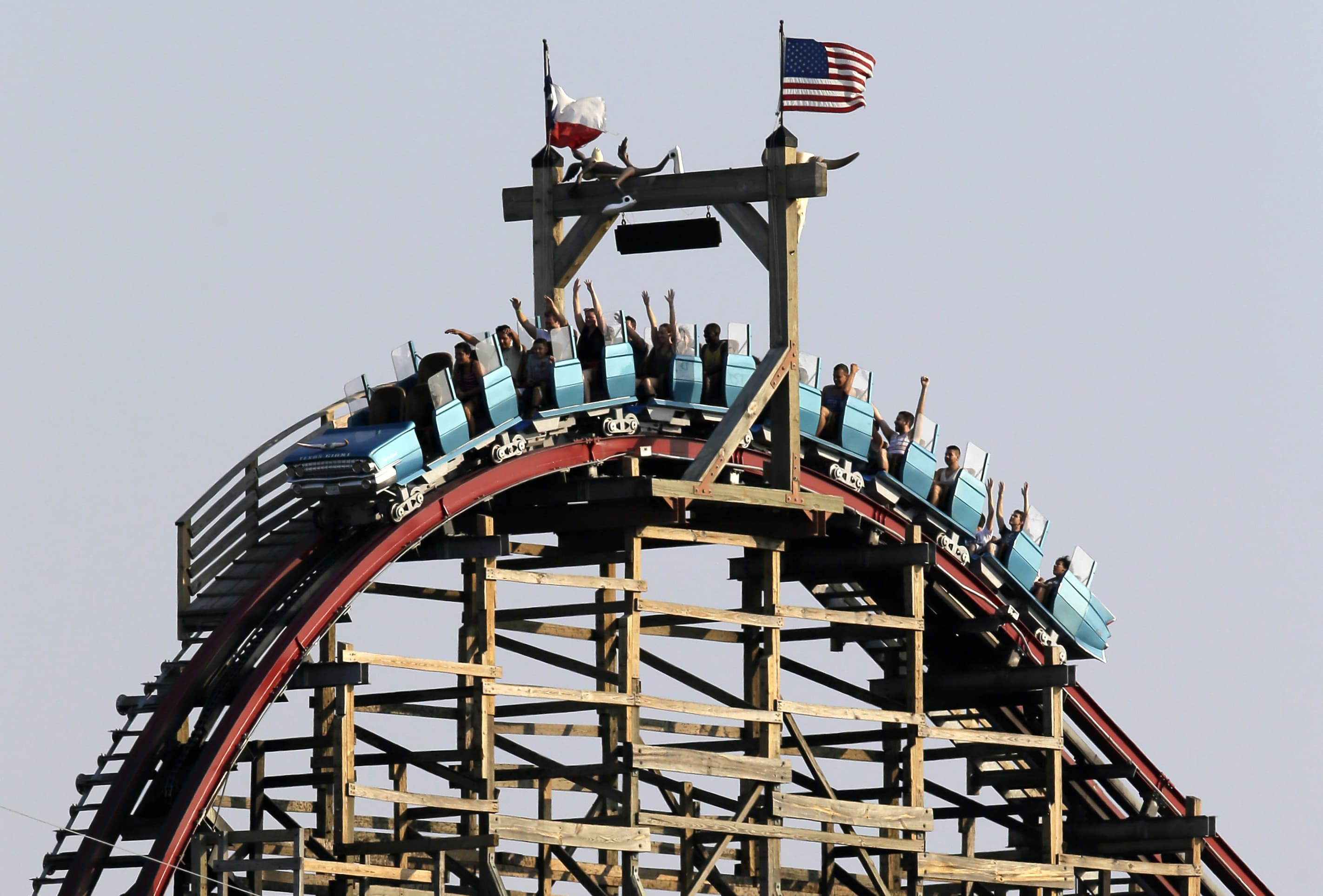 Six Flags Over Texas denies liability for roller-coaster accident death