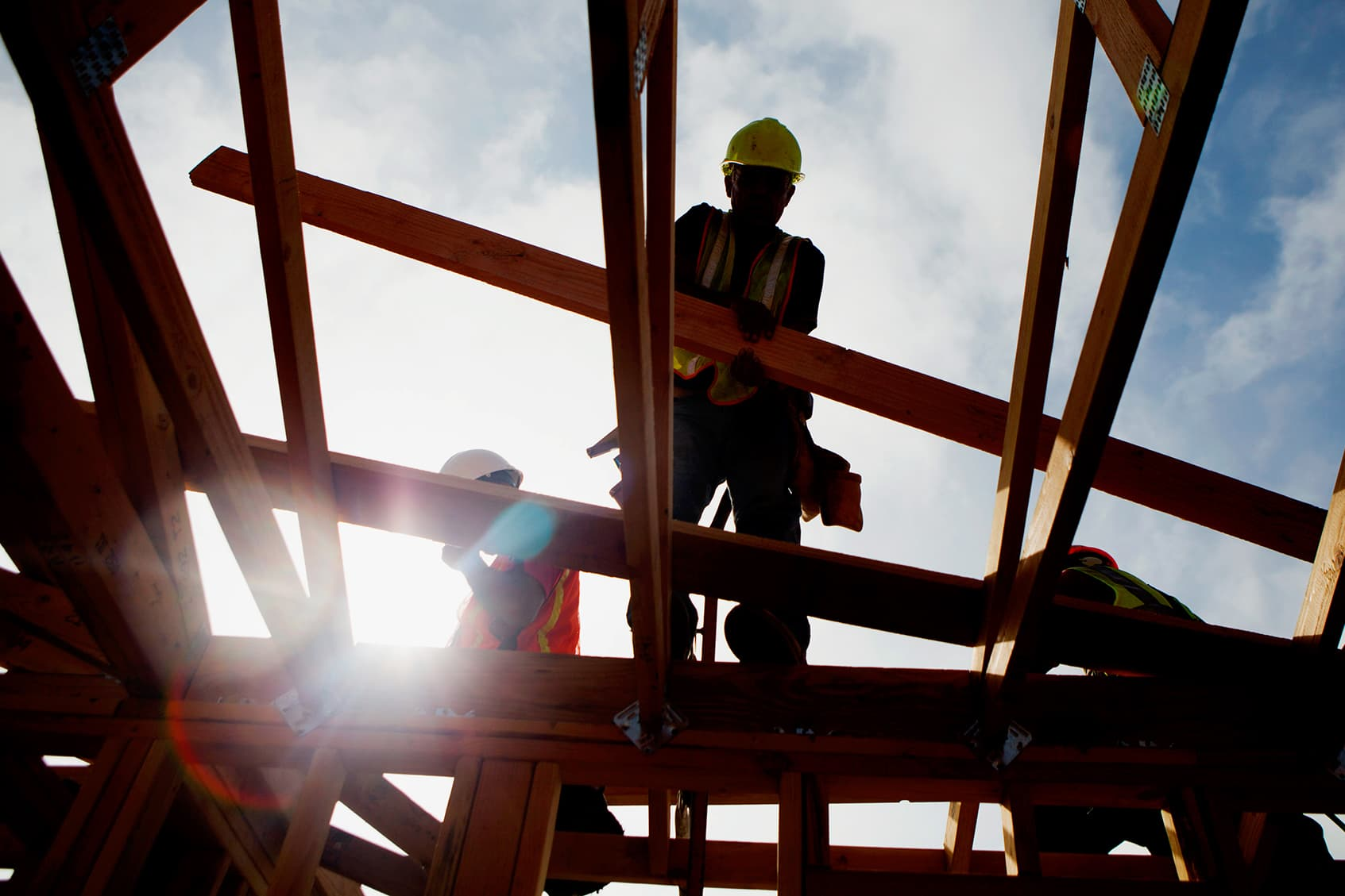 US housing starts fall from a 12-year high