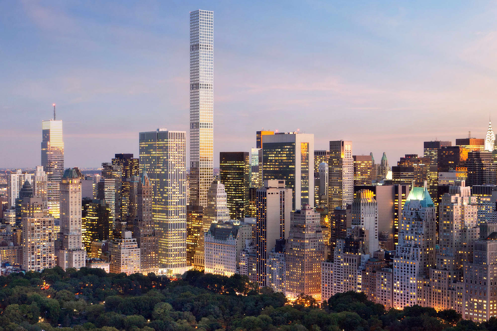 Manhattan apartment prices hit record high
