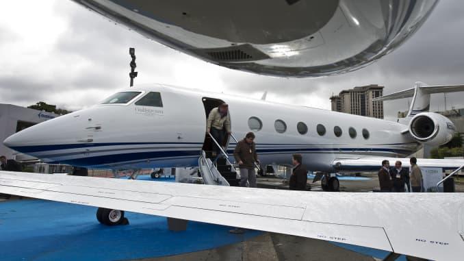 Premium: Gulfstream G550