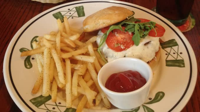 Olive Garden Adds Italian Accented Burger And Fries To Menu