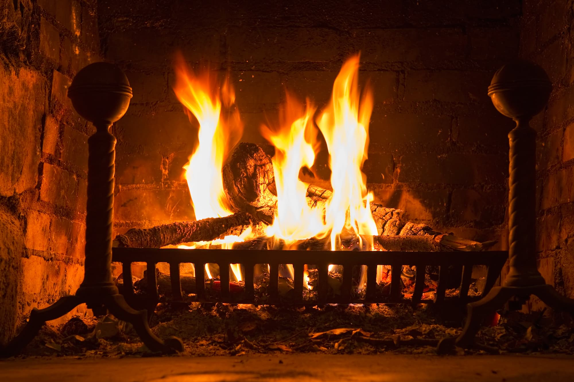 To burn less money, consider heating with wood