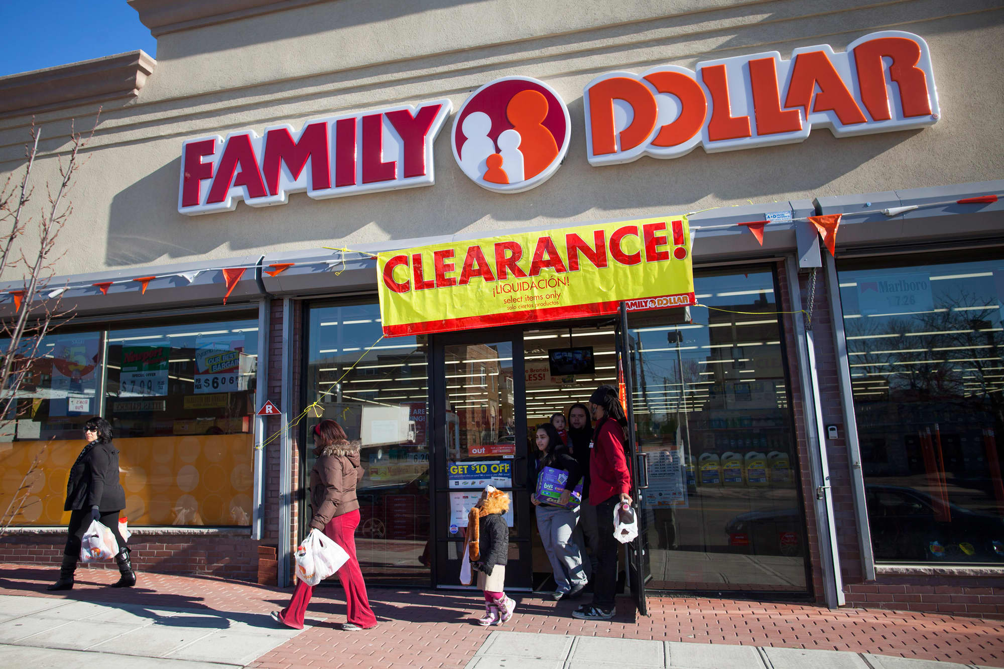 Premium: Family Dollar store exterior