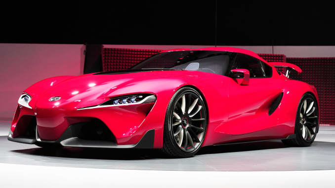 Toyota Hints Of Passionate Future With Ft 1 Sports Car Concept