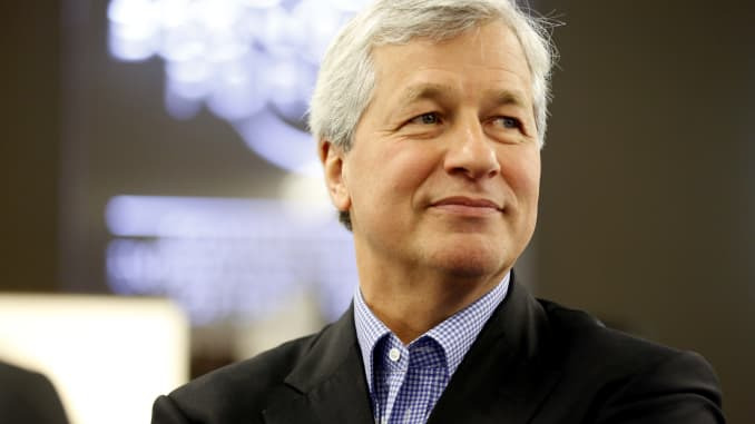 GP: Jamie Dimon, chairman, president and chief executive officer of JPMorgan Chase & Co WEF