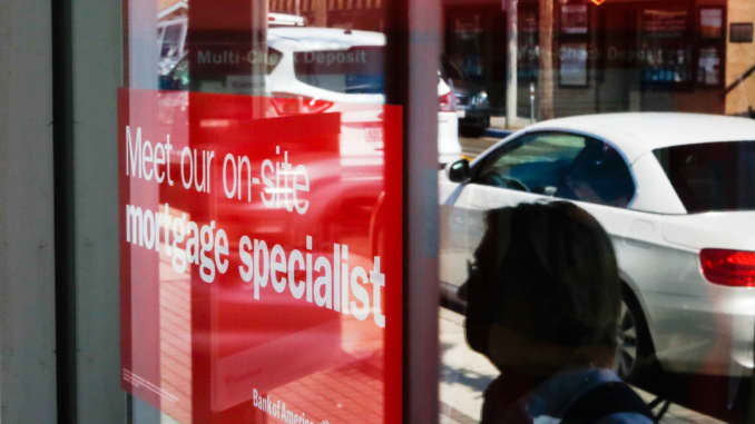 GP: Bank of America mortgage specialist signage mortgages