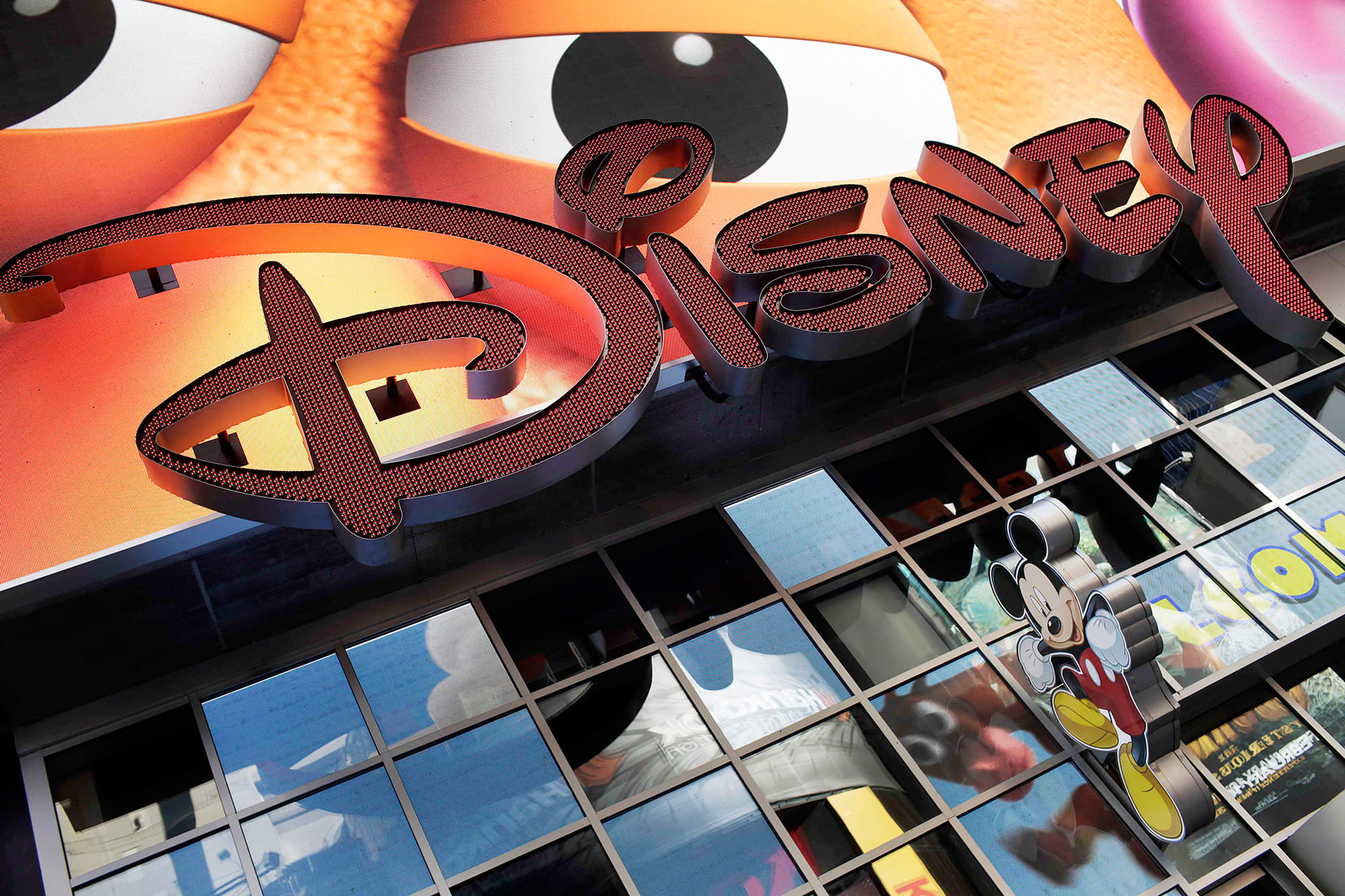 Premium: Walt Disney Company store signage