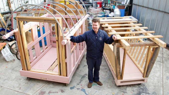 Tiny houses: A big idea to end homelessness