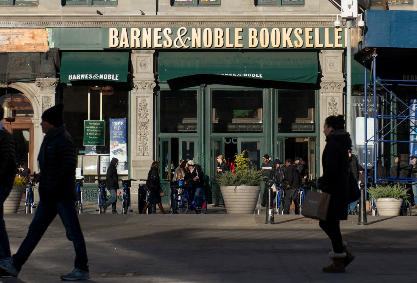 Barnes & Noble fires CEO Demos Parneros for violating company policies