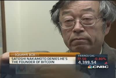 Satoshi nakamoto - Vadovas Bitcoin -