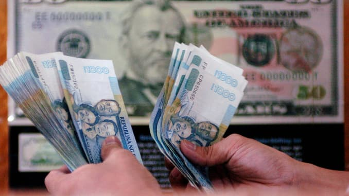 High Yields Boost Philippine Peso