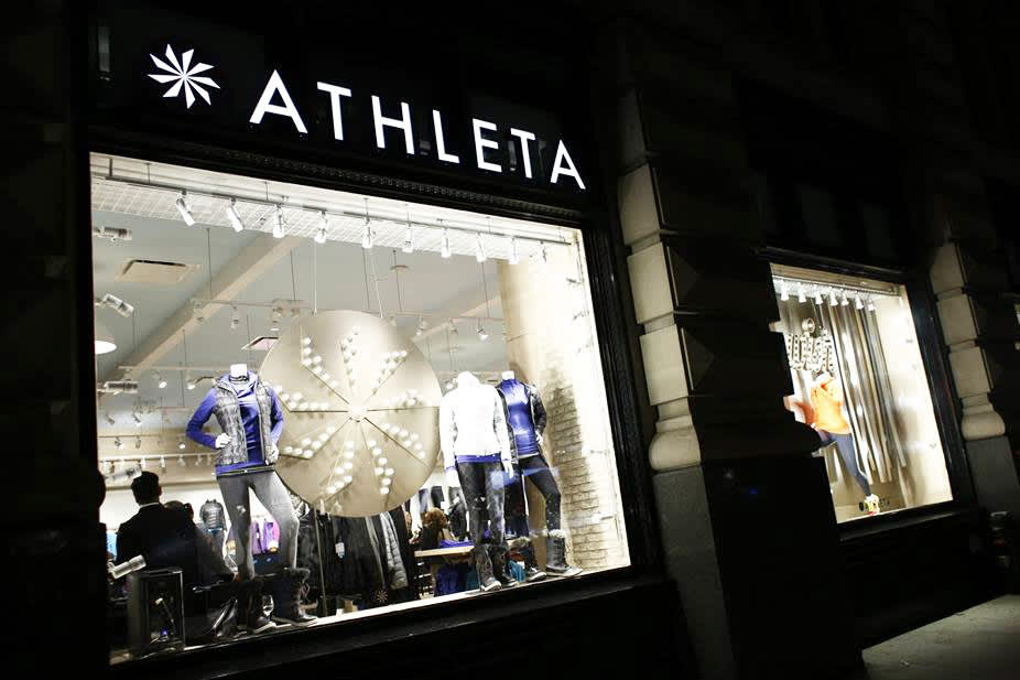 Gap has a new plan to grow its Athleta, Janie and Jack businesses overseas