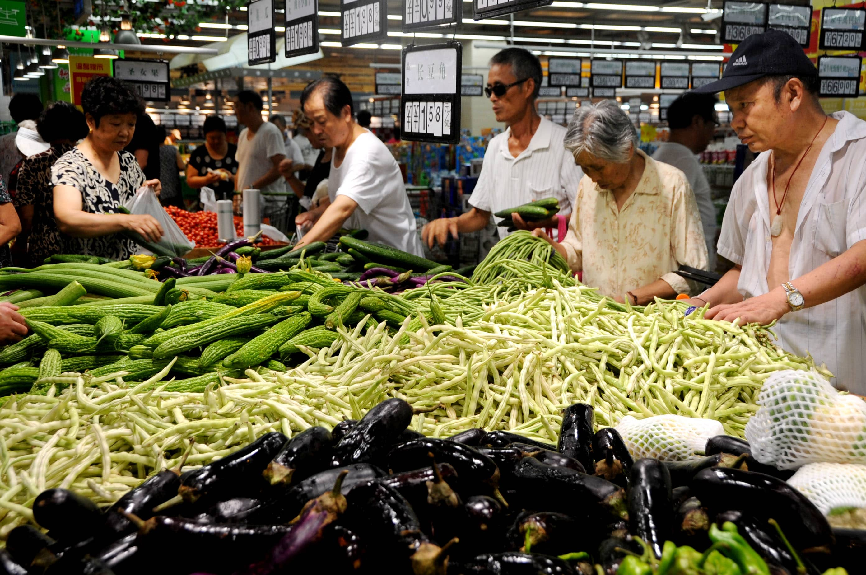 China's consumer inflation driven to 5-month high as pork prices rise
