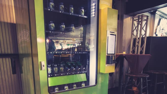 This high-tech vending machine sells marijuana — CNBC