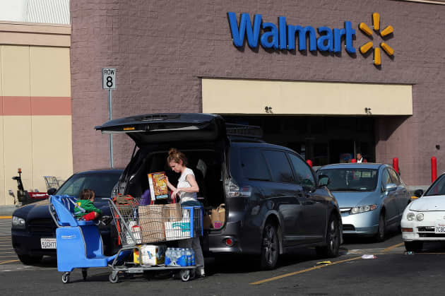 Wal-Mart to allow shoppers on food stamps to order groceries