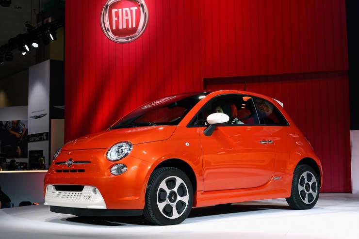 Reusable: Fiat 500e electric car