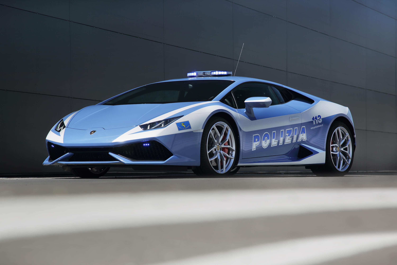 Italian Police Get A Brand New Lamborghini