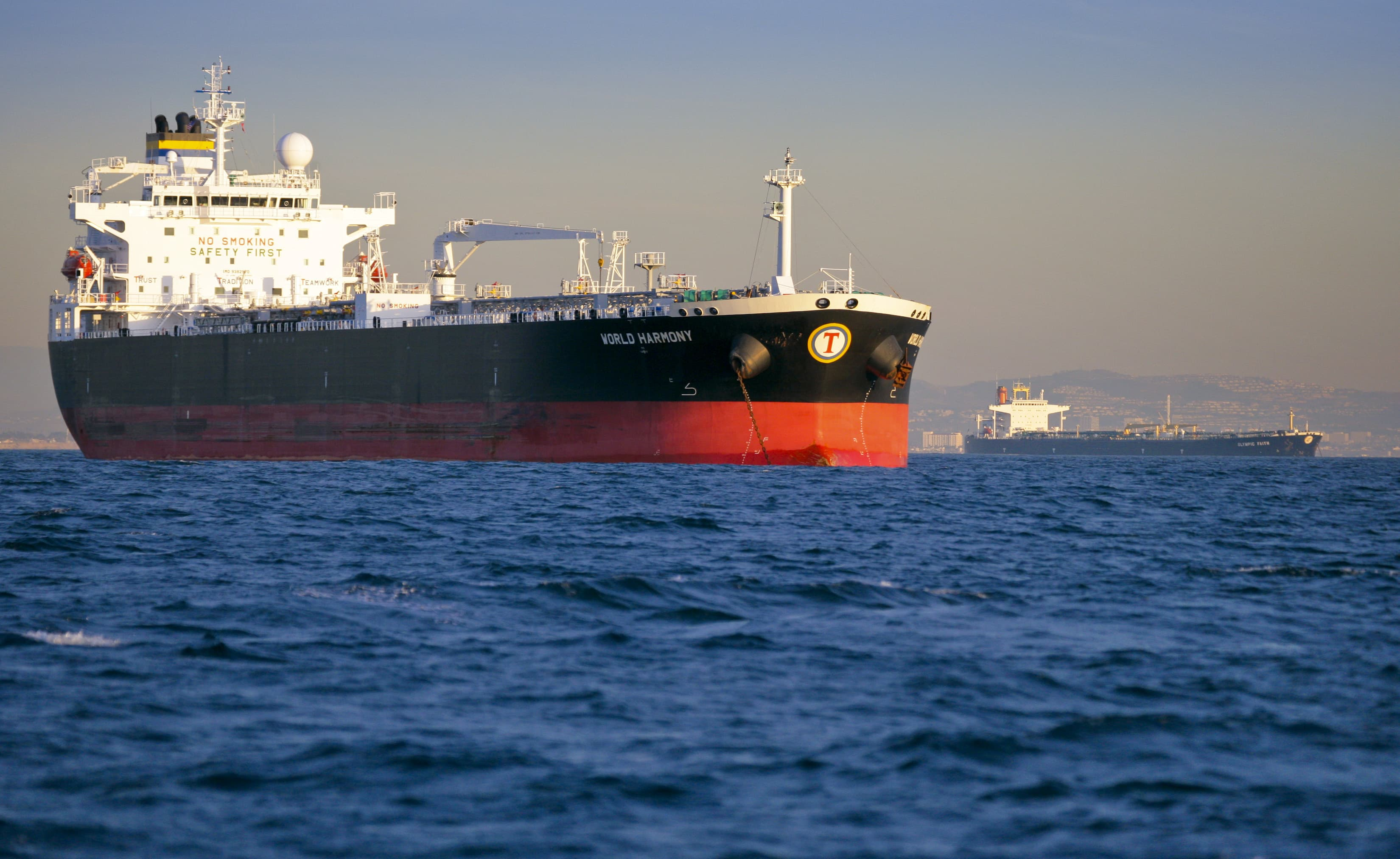 The booming business of oil tankers