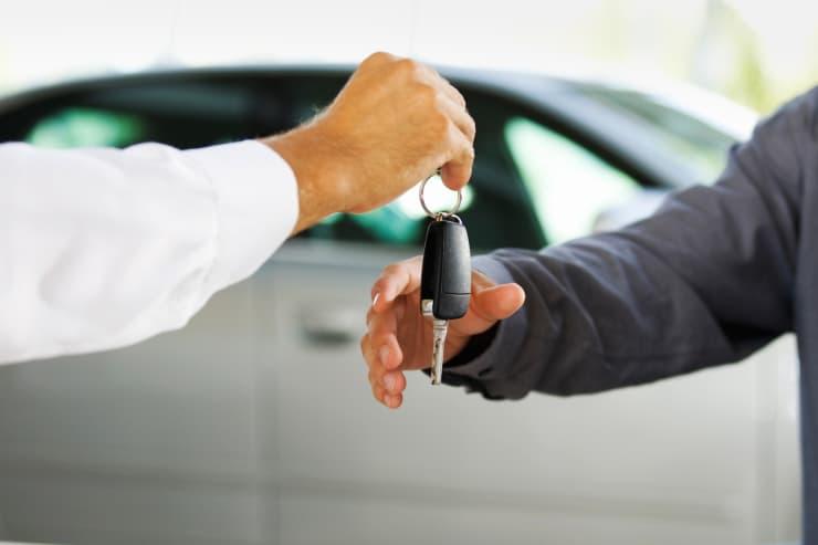 Premium: Car keys buying a car