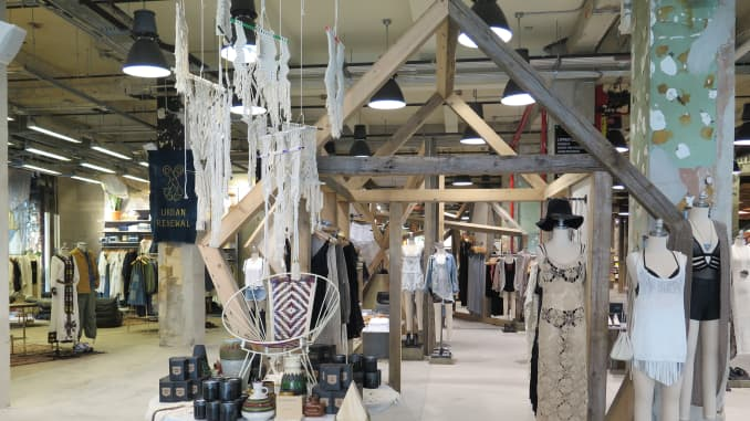 Urban Outfitters goes big with new NYC store