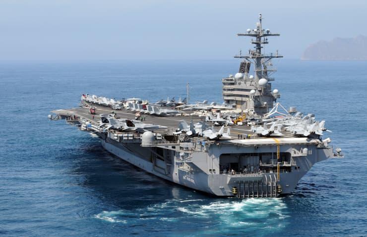 Reusable: USS George H. W. Bush aircraft carrier