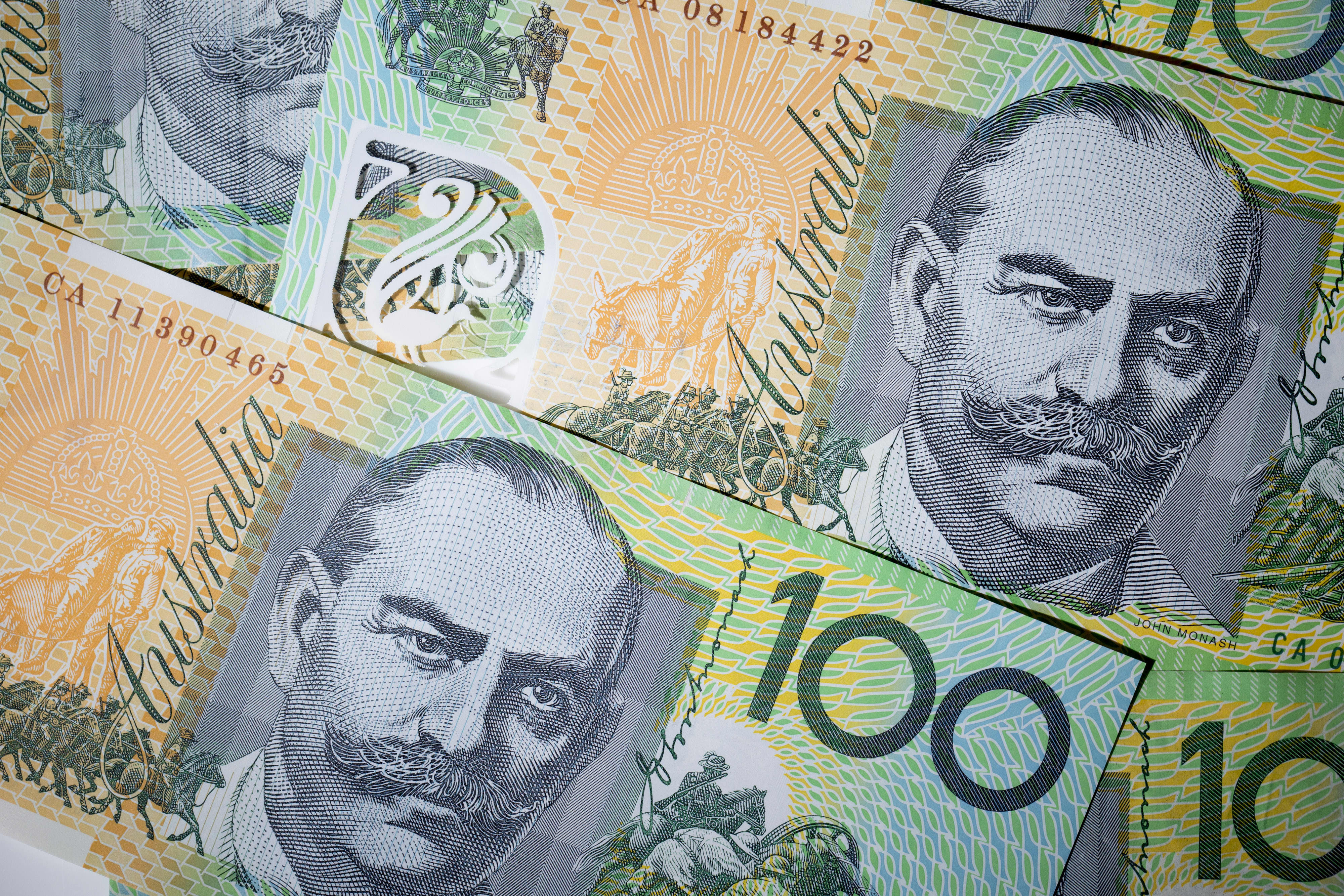 Aussie dollar rallies as central bank holds rates, cut still on the menu