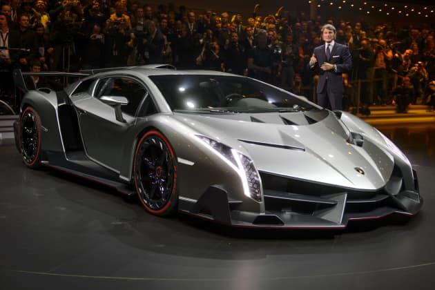 The 4 Million Lamborghini Veneno S Maiden Voyage
