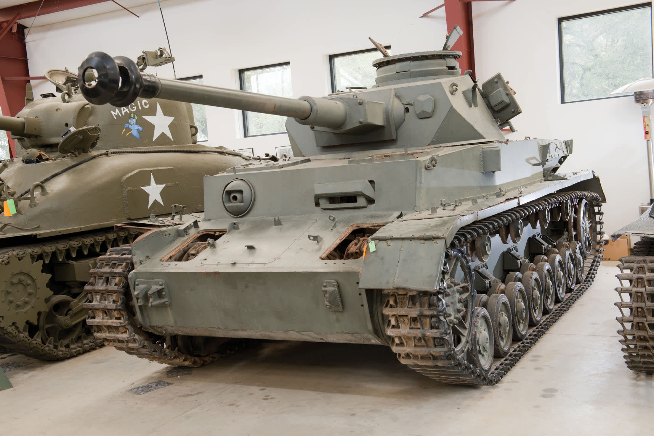 Fleet Of Military Tanks Up For Auction