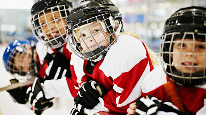 Image result for kids hockey health