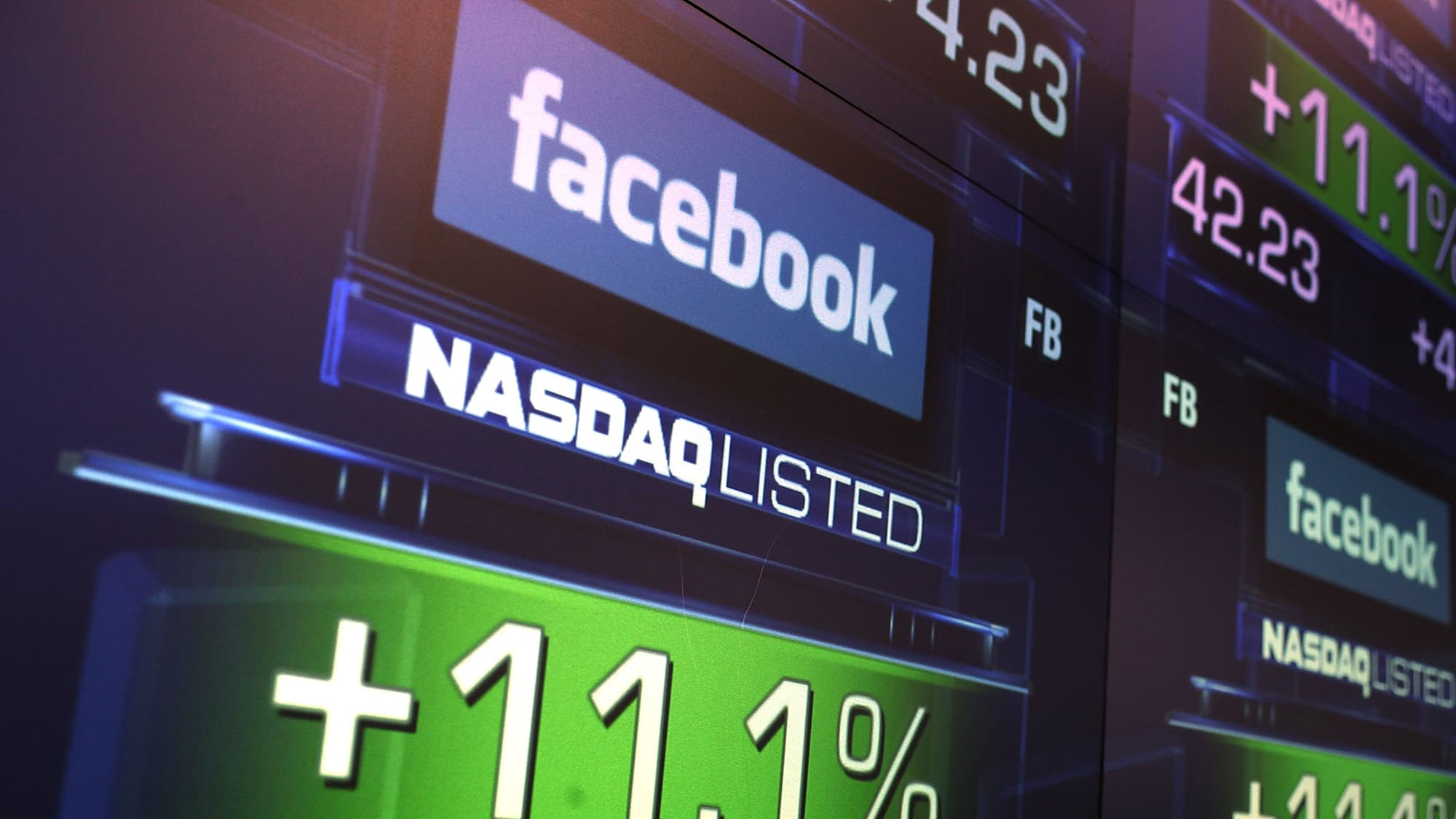 Facebook leads the pack into earnings, trader says