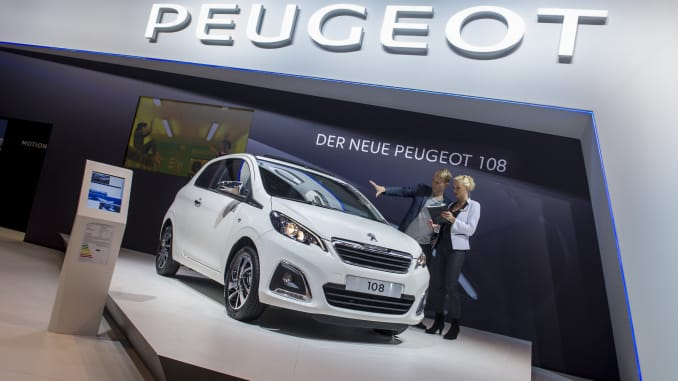 Reusable: Peugeot 108